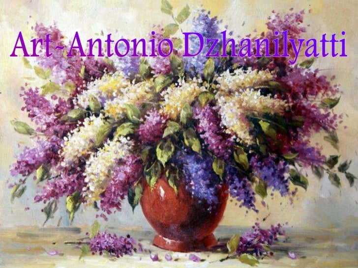 Art   антонио джанильятти