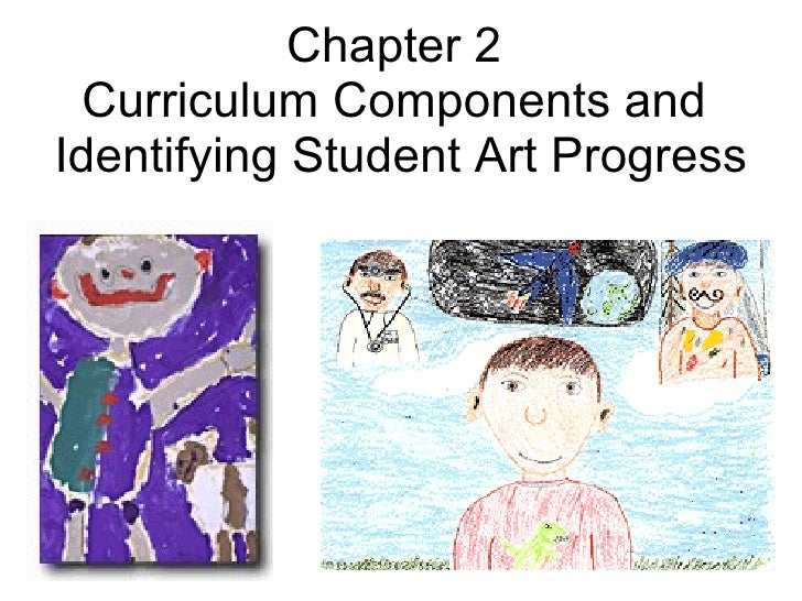 Chapter 2  Curriculum Components and  Identifying Student Art Progress