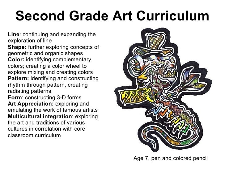 Line Art Grade 2 : Kcc art chapter curriculum and lesson planning