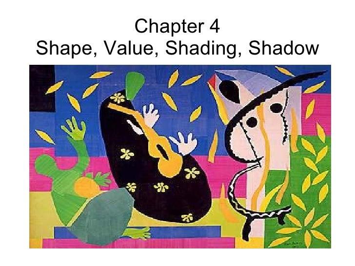 Chapter 4 Shape, Value, Shading, Shadow