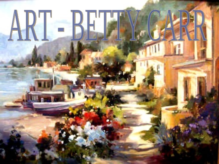 ART - BETTY CARR