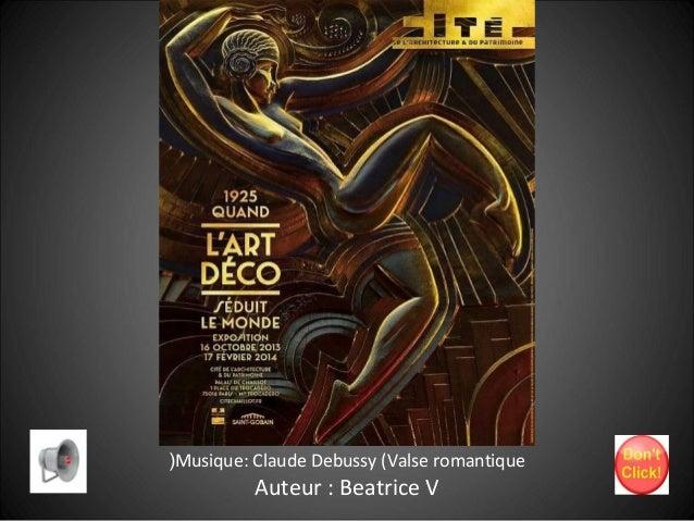(Musique: Claude Debussy (Valse romantique  Auteur : Beatrice V