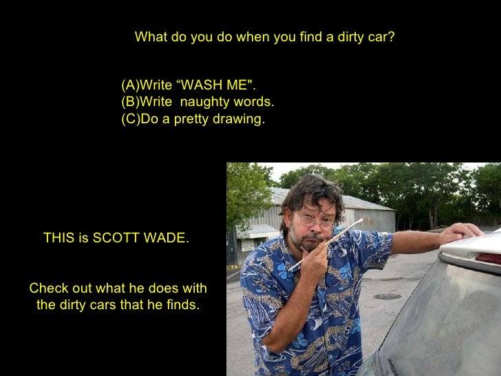 Art Dirty Cars