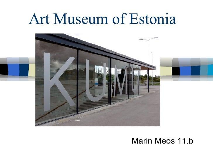 Art Museum Of Estonia