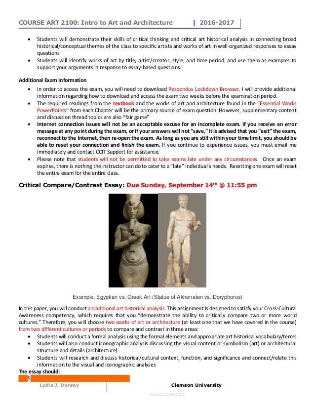 Art History Essay Topics