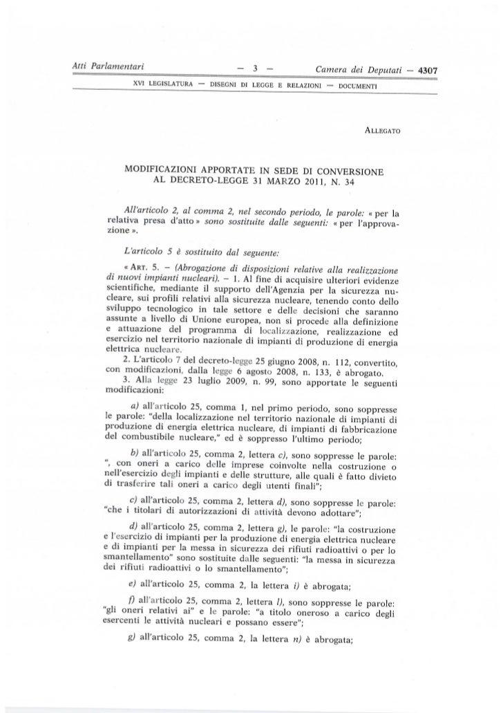 Articolo 5 del decreto Omnibus