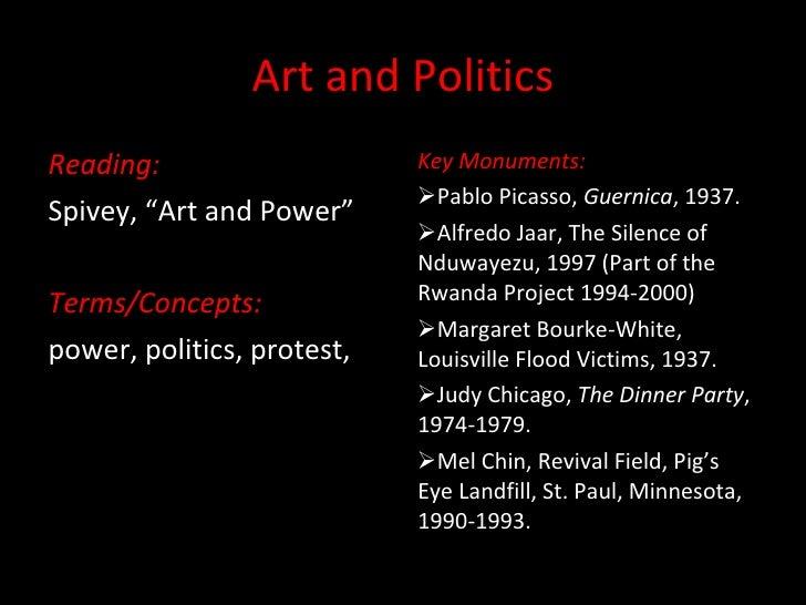 Art and politics upload