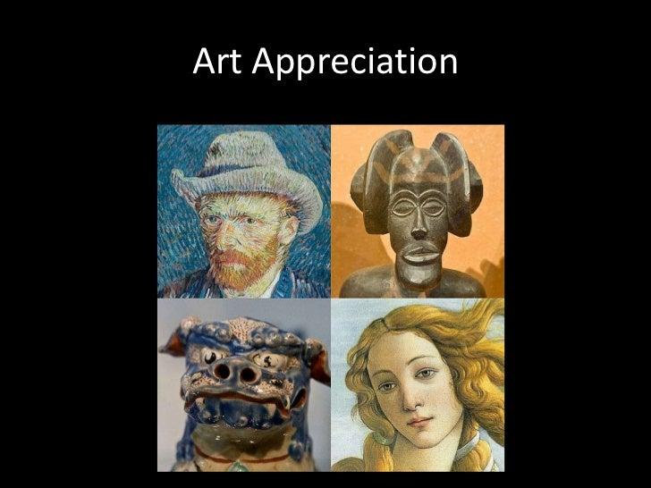 Art Appreciation<br />
