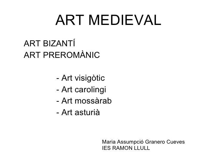 Art bizantí i preromànic