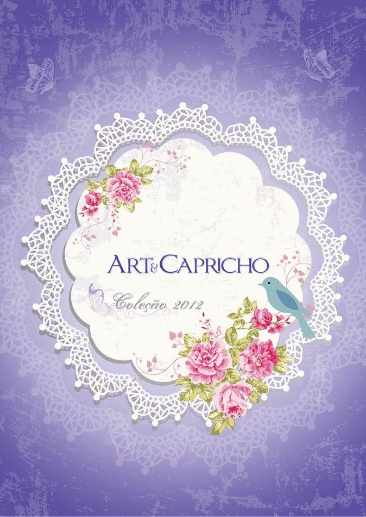 Art & capricho coleção 2012