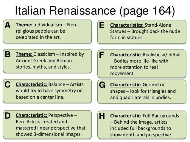 Homework help italian renaissance