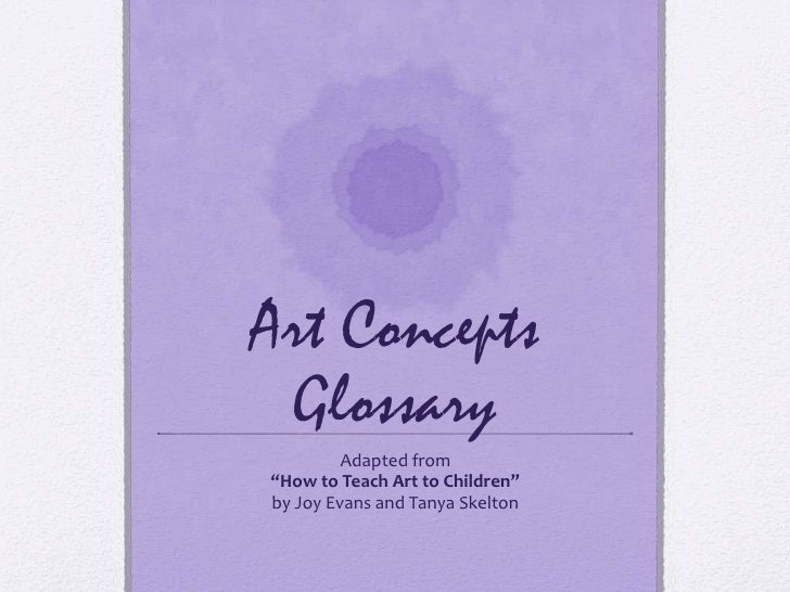 Art Concepts Glossary