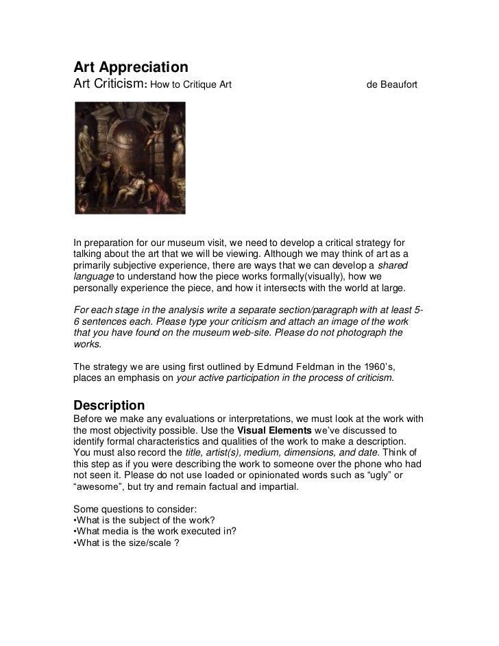 critical analysis essay outline