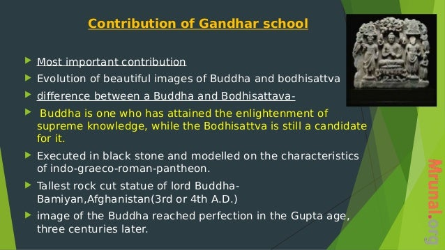 difference between gandhara and mathura school of art pdf