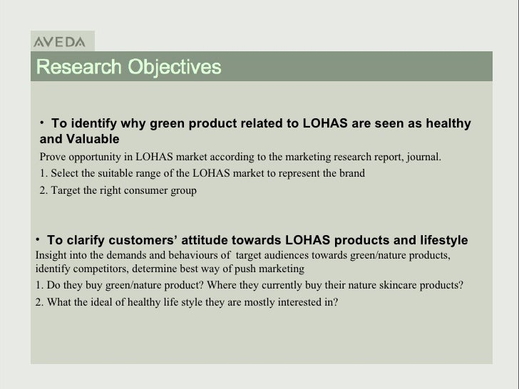 green marketing a research proposal Research will aid the ftc in determining what revisions, if any, should be made to the green guides to ensure that green marketing survey methodology report.