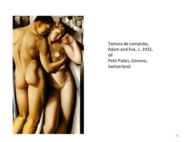 Lempicka Adam And Eve de Lempicka Adam And Eve