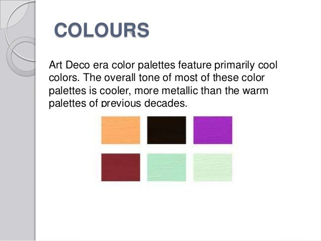 Art deco colours schemes images - Art deco color combinations ...