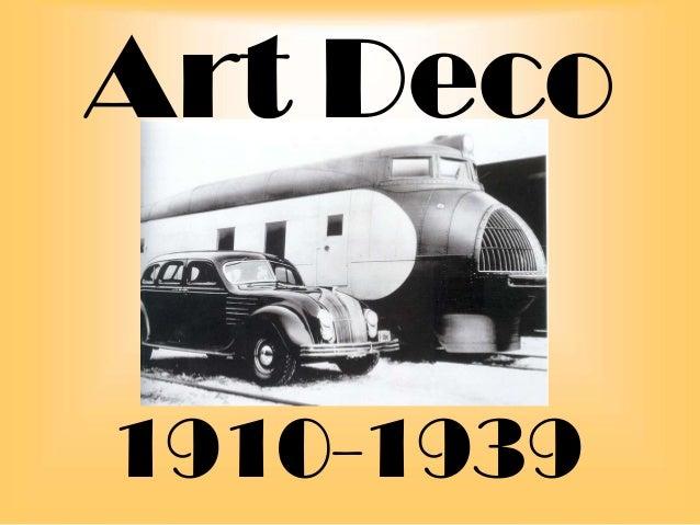 North Berwick High School Art & Design Dept -Art deco powerpoint presentation