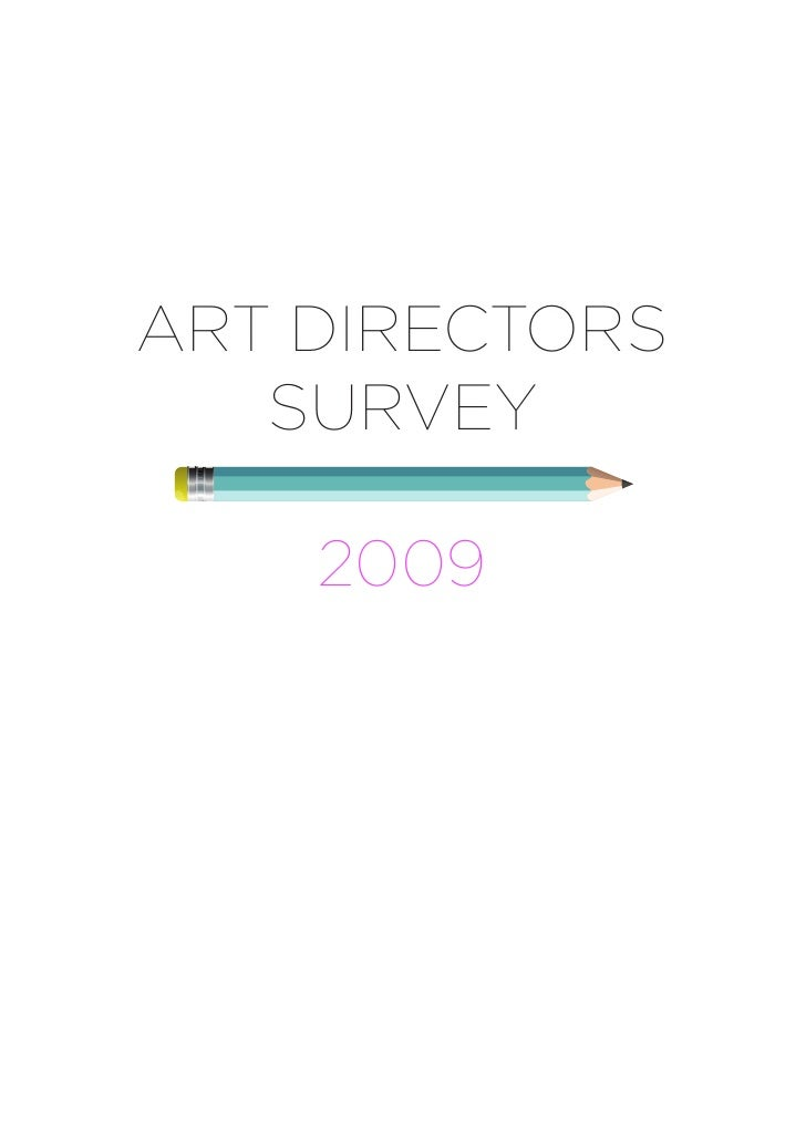 ART DIRECTORS    SURVEY      2009