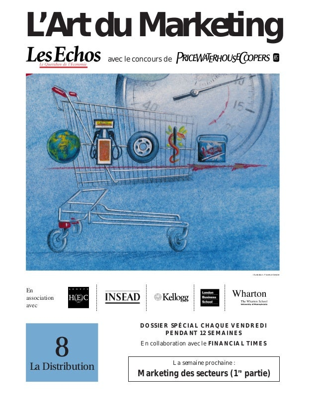 l'Art du marketing - les Echos PwC