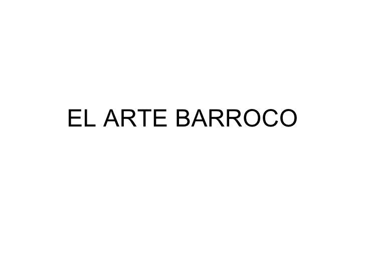 Arte barroco-caractteristicas