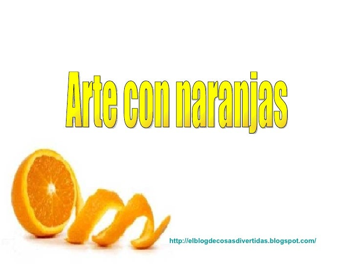 Arte con Naranja