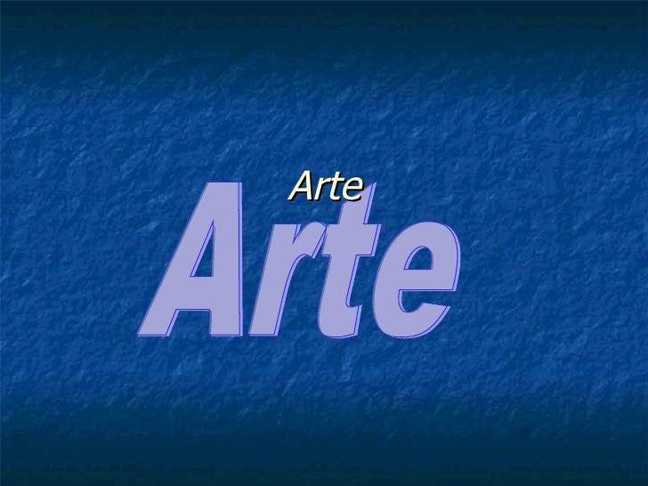 Arte Definição