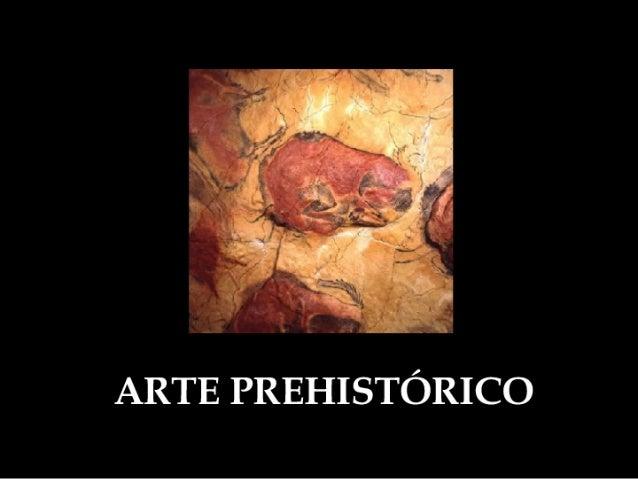 Arte Prehistórico Pintura Y Escultura
