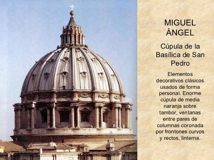 Arte renacimiento arquitectura - Arquitectura miguel angel ...