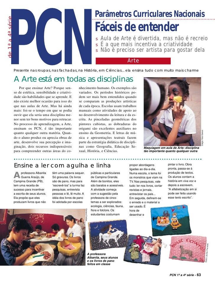 PCN                                                                                                Parâmetros Curriculares...