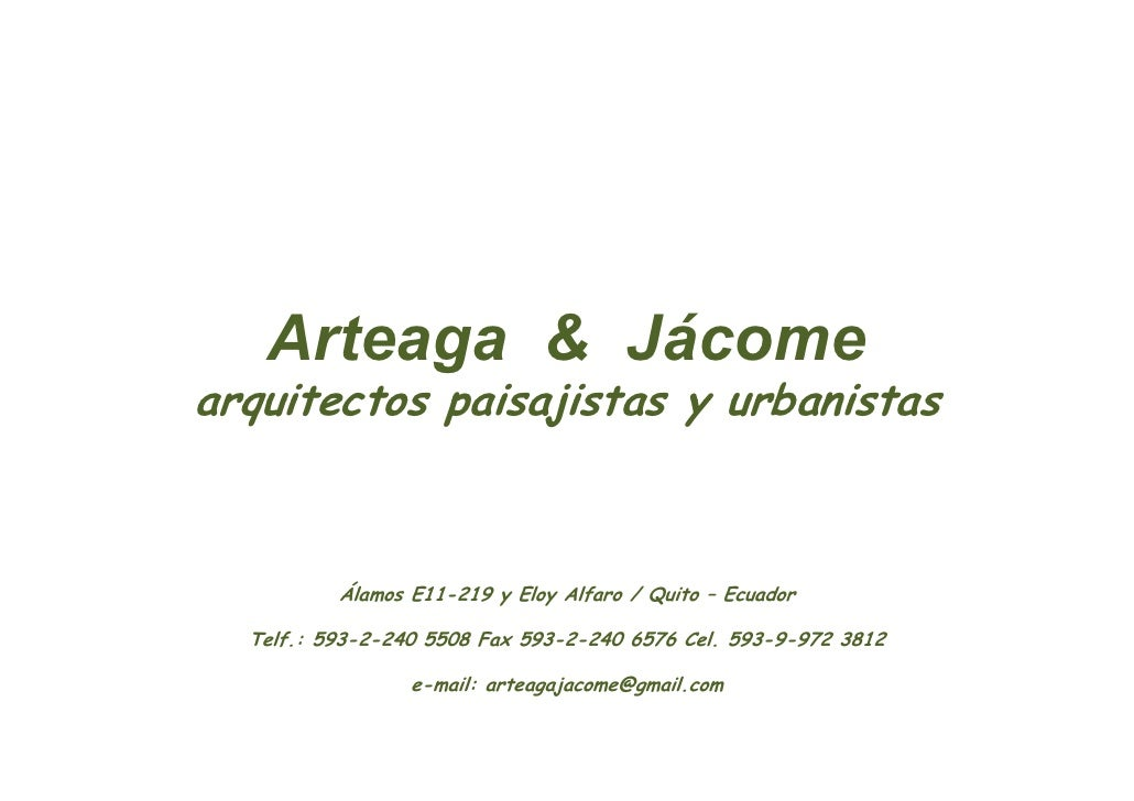 Arteaga & JáCome 97 2003