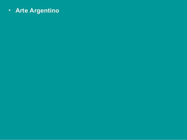 Arte argentino intro