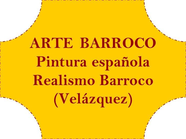 Arte barroco 8 españa (velázquez)