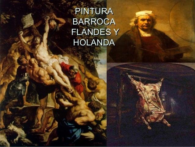 PINTURA BARROCA FLANDES Y HOLANDA
