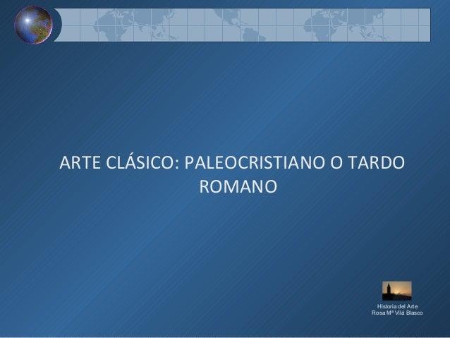 Arte clasico paleocristiano