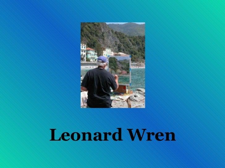 Arte de Leonard Wren