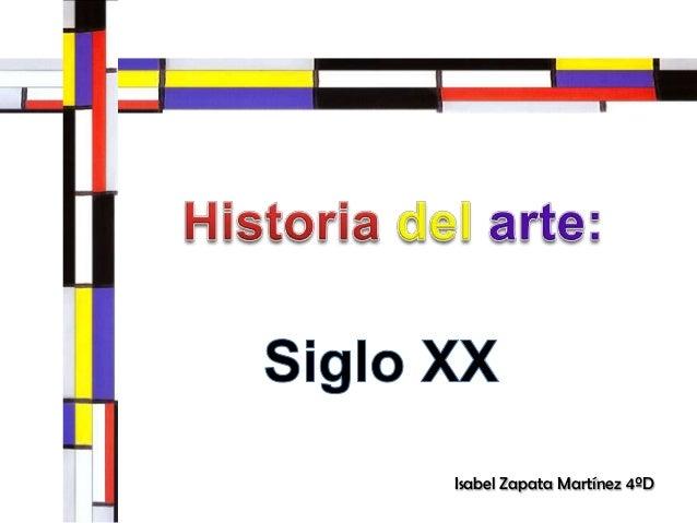 Isabel Zapata Martínez 4ºD