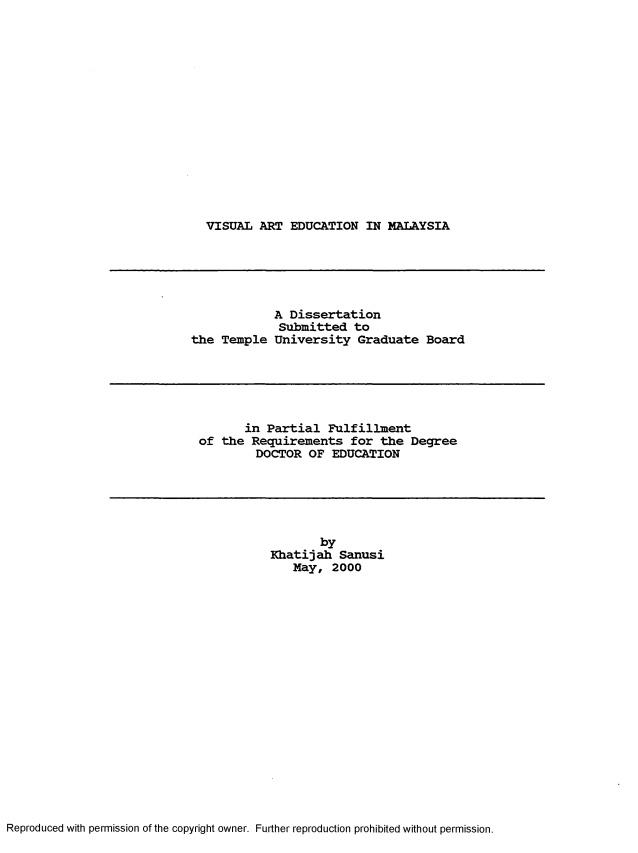 Doctor of Education (EdD) Applied Dissertation