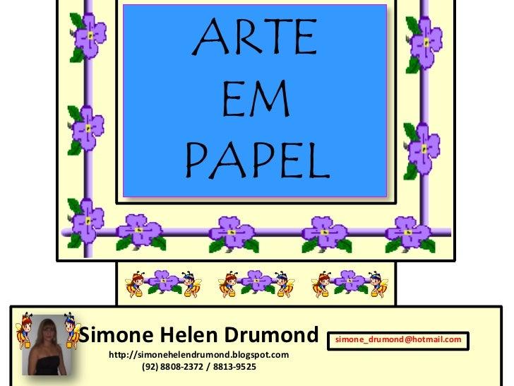Arte em papel 2
