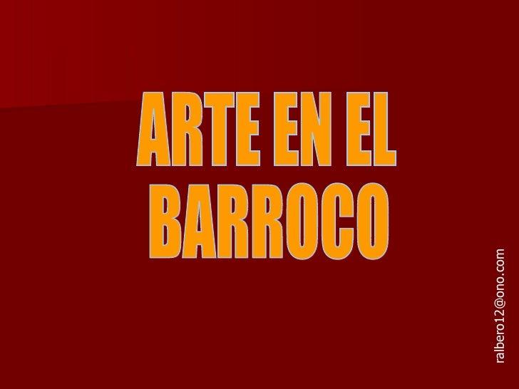 Arte En El Barroco
