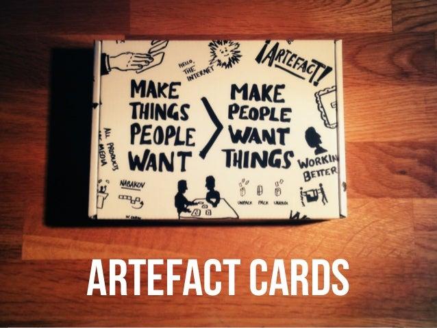 Artefact cards