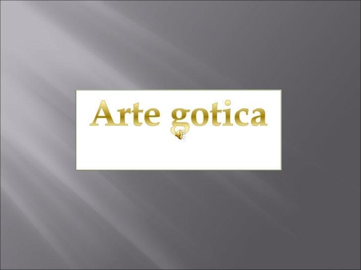 Artegotica