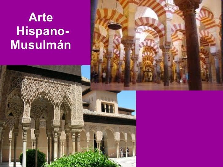 Arte  Hispano-Musulmán