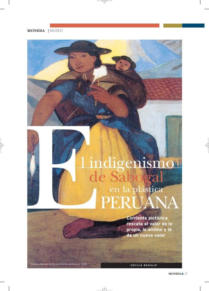 El Indigenismo de Sabogal en la Plástica Peruana