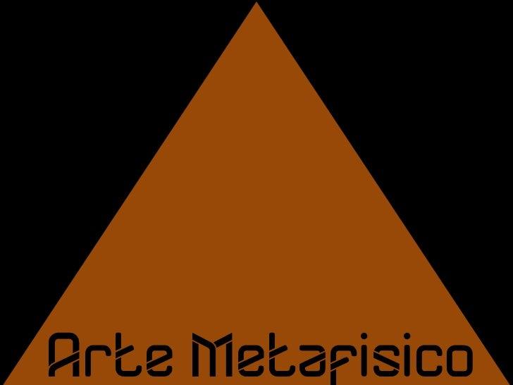 Arte Metafísico