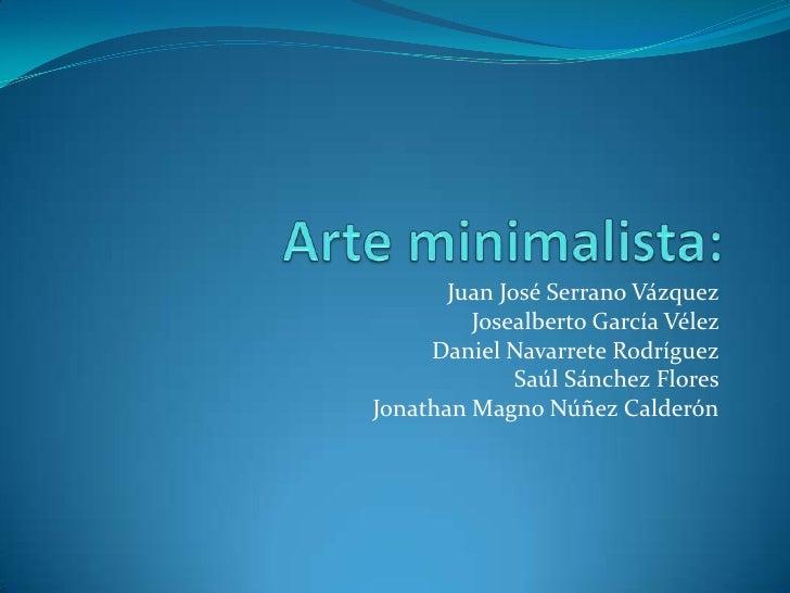 Arte minimalista 2 for Minimal art que es