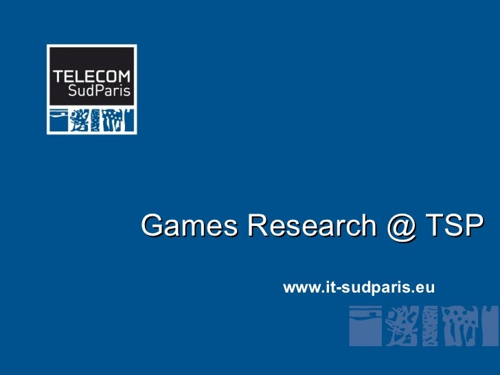 Games related research at Institut TELECOM