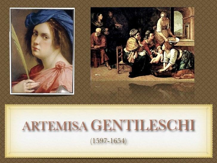 Texto     ARTEMISA GENTILESCHI        (1597-1654)