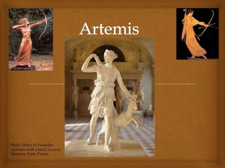 Photo: Diana of Versailles(Artemis with a hind), LouvreMuseum, Paris, France.