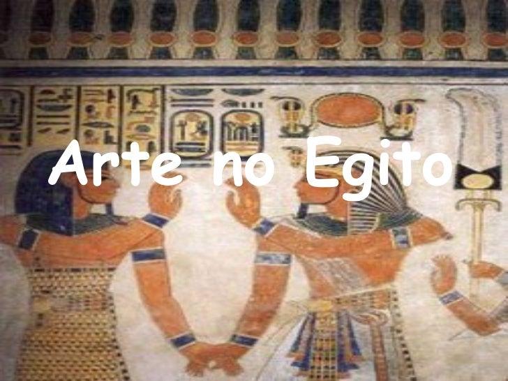 Arte no Egito